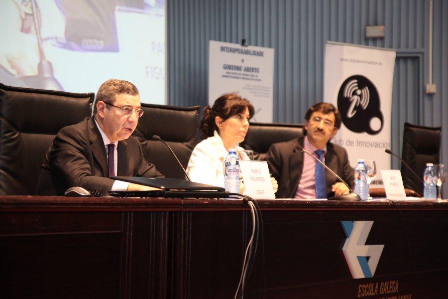 Acto de apertura das xornadas de Interoperabilidade